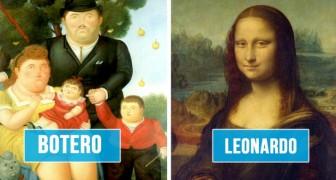 Ironische gids om de beroemdste schilders uit de geschiedenis te herkennen aan hun onmiskenbare stijl