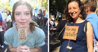 I 15 cartelli con le frasi più divertenti e ironiche esposti alle proteste contro il cambiamento climatico