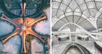 À Pékin, l'aéroport avec le plus grand terminal du monde : un magnifique travail de design et de fonctionnalité