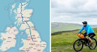 Dall'Inghilterra alla Scozia in bici: aperta una pista ciclabile lunga 1.300 chilometri