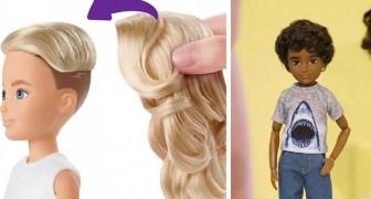 Mattel a lancé les premières poupées du genre neutre