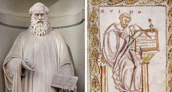 Die Geschichte der sieben Musiknoten, wie wir sie heute kennen: Der Mönch Guido D'Arezzo erfand sie