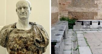 Pecunia non olet: die Ursprünge von öffentlichen Bädern und die vom römischen Kaiser festgelegte Urinsteuer