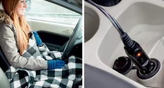Cette couverture polaire auto-chauffante rendra vos déplacements en voiture confortables et relaxants