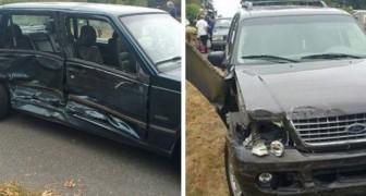 Twee kinderen van 3 en 5 jaar hebben de auto van hun ouders gestolen om hun oma te bezoeken