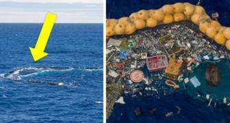 Die Ozeanreinigung: Das Kunststoffabscheidesystem ist endlich in Betrieb und hat mit der Reinigung der Ozeane begonnen
