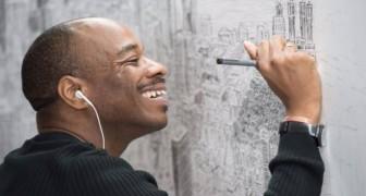 Ce garçon autiste est capable de dessiner des villes entières par cœur, après un seul regard