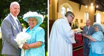 Depois de mais de 40 anos de vida juntos, este casal de 80 anos decide se casar