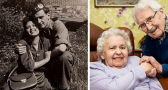 John e Edith: eles sobreviveram ao Holocausto e em 2019 festejaram 73 anos de casamento