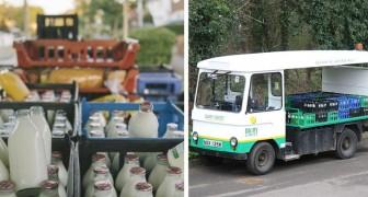 Per ridurre il consumo di plastica, a Londra si torna a consegnare il latte nelle bottiglie di vetro