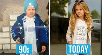 20 comparaisons photographiques qui nous font réfléchir sur certains détails de notre vie quotidienne