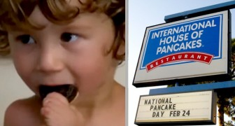 Dit gehandicapte kind wordt uit een fastfood gegooid omdat hij niet aan tafel kan zitten en met zijn handen kan eten