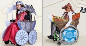 Esta empresa faz fantasias de Halloween para crianças que usam cadeiras de rodas
