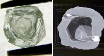 Découverte en Sibérie d'un diamant très rare à effet poupée russe : il en contient un plus petit à l'intérieur
