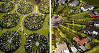 Diese kuriosen Gartenhäuser in Dänemark sollen Entspannung und soziale Interaktion fördern