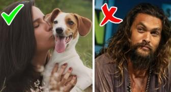 Uno studio afferma che baciare un uomo con la barba incolta potrebbe essere meno igienico che baciare un cane