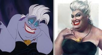 Een kunstenaar stelde zich voor hoe de personages van sommige Disney-films eruit zouden zien als ze in de echte wereld leefden