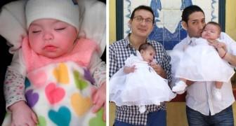 Questa coppia gay ha adottato una bambina affetta da HIV che era stata rifiutata da 10 famiglie
