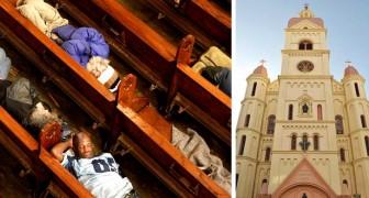 Ogni notte questa parrocchia californiana offre un riparo a chi è costretto a dormire per strada
