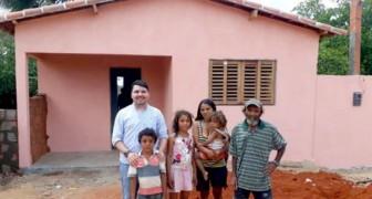 Une église brésilienne a fait don de la dîme pour acheter une nouvelle maison pour une famille dans le besoin