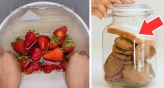 7 trucchi facili e veloci per conservare il tuo cibo più a lungo possibile