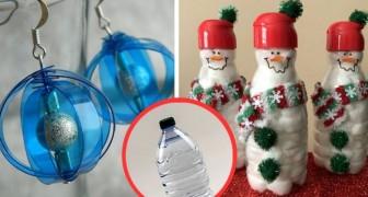 Decorazioni Natalizie Con Foto.Decorazioni Natalizie Con Le Bottiglie Di Plastica 18 Idee Per Riciclare In Modo Artistico Creativo Media