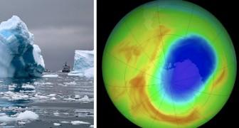 Das Ozonloch über der Antarktis war seit seiner Entdeckung nie so klein: der Rekord vom Oktober 2019