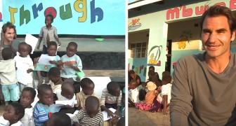 Roger Federer heeft tientallen scholen in Afrika geopend en biedt onderwijs en hoop aan meer dan 1 miljoen kinderen