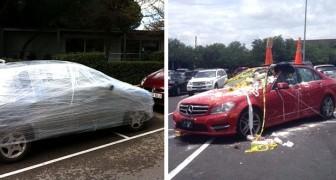 12 automobilisti parcheggiati in modo incivile che hanno ricevuto una lezione indimenticabile