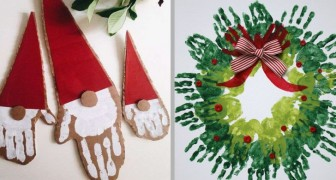 Lavoretti Di Natale Per Bambini Con Cartoncino.Decorare Con Le Mani 19 Lavoretti Di Natale Per Divertirsi Con I Bambini Creativo Media