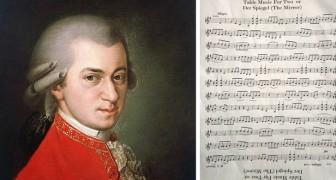 Der Spiegel, il brano attribuito a Mozart che può essere suonato allo specchio