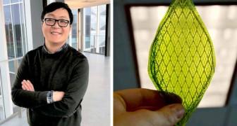 Un ricercatore ha creato una foglia artificiale che trasforma l'anidride carbonica in combustibile ecologico