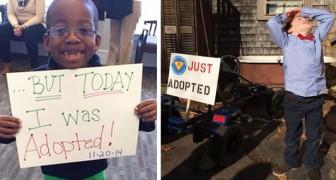 Du bist endlich adoptiert: 27 Fotos zeigen die Freude jedes Kindes nach der offiziellen Nachricht