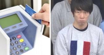 En butiksanställd utnyttjade sitt fotografiska minne för att memorera informationen på 1300 kreditkort