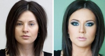 17 Fotos vor und nach dem Make-up zeigen, wie Make-up das Gesicht einer Person verändern kann