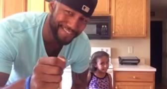 La geniale tecnica di acconciatura per bambine da cui tutti i papà possono imparare