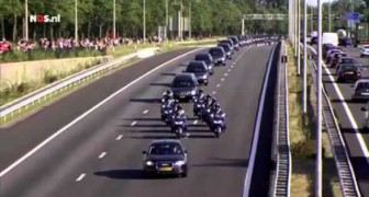 The emotional tribute for the 193 dutch victims who were traveling on Malaysia Airlines flight 17