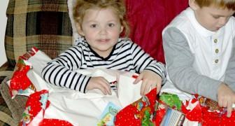 La regla de los cuatro regalos: un modo inteligente y original para alegrar a los más pequeños en Navidad