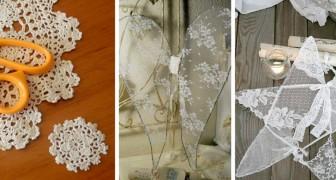 Natale tra i merletti: i progetti di fai-da-te per trasformare pizzi e centrini in bellissime decorazioni