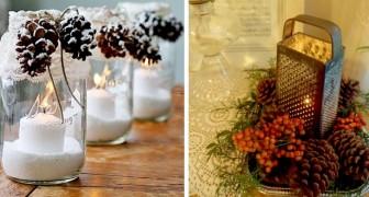 Candele in tavola a Natale: le idee più belle e facili per realizzare composizioni di grande effetto