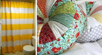 Non solo stracci: 12 idee brillanti per riutilizzare le nostre vecchie lenzuola