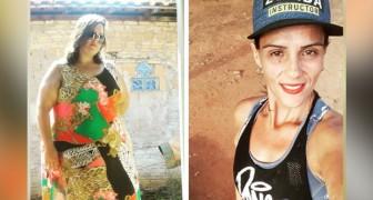 Sem ajuda de cirurgias, esta mulher perdeu 110 Kg fazendo Zumba todos os dias