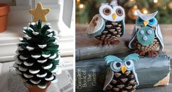 Idee Originali Per Lavoretti Di Natale.Lavoretti Natalizi Con Le Pigne 10 Idee Originali E Semplici Per Decorare In Modo Naturale Creativo Media