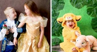Questa fotografa celebra la bellezza dei bambini Down in una serie di scatti ispirati alle fiabe Disney