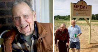Mit 98 Jahren nutzt er seine Lebensersparnisse, um einen Zufluchtsort für Tiere zu schaffen