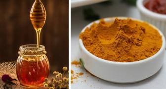 Honig und Kurkuma: Wie man einen effektiven 100% natürlichen Sirup gegen die saisonalen Beschwerden herstellt
