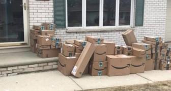 Een vrouw heeft zes maanden lang pakjes van Amazon apart gehouden om een grapje uit te halen met haar man
