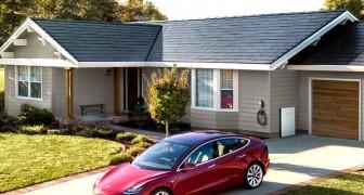 Le nuove tegole solari progettate da Tesla promettono grande efficienza energetica a prezzi ridotti
