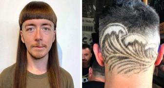 Diese 14 extravaganten Frisuren zeigen, dass Fantasie und schlechter Geschmack manchmal keine Grenzen haben