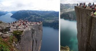 De Preekstoel in Noorwegen: een duizelingwekkend natuurlijk balkon van 600 meter hoog, de bestemming van duizenden toeristen